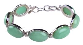 Edelstenen armband Green Aventurine Oval