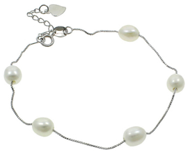 Zoetwater parel armband Pearl Chain