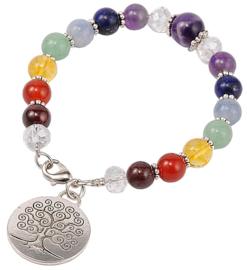 Edelstenen armband Gemstone Chakra