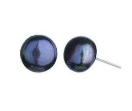 Zoetwater parel oorbellen Bia 8 mm