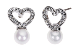 Mother of Pearl parel oorbellen Fiell Bright Heart Pearl