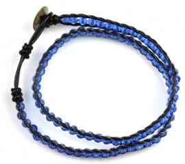 Kristallen armband Crystal Light Blue