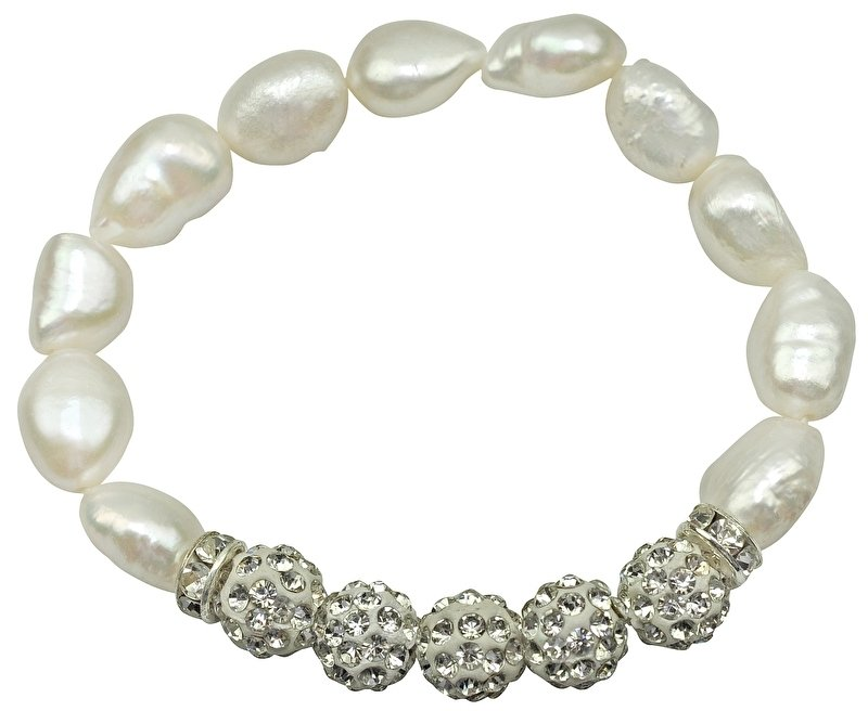 Zoetwater parel armband Five Bling Pearl