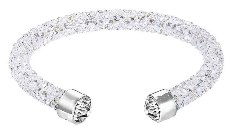 Kristallen armband Stardust Clear