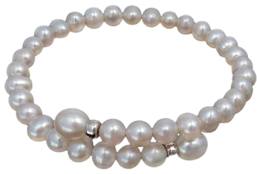 Zoetwaterparel armband Angelica