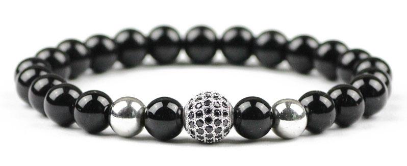 Edelstenen armband Black Diamond