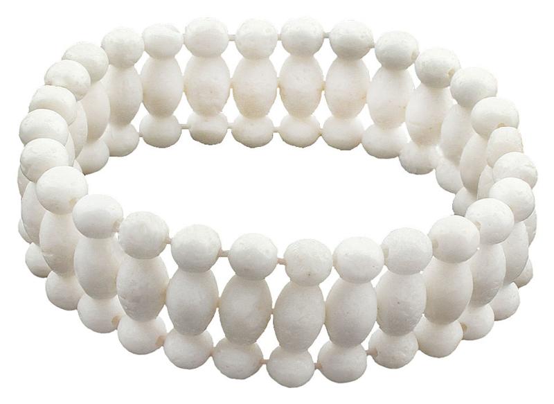 Koralen armband White Coral
