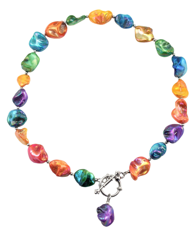 Schelpen ketting Shell AB Color
