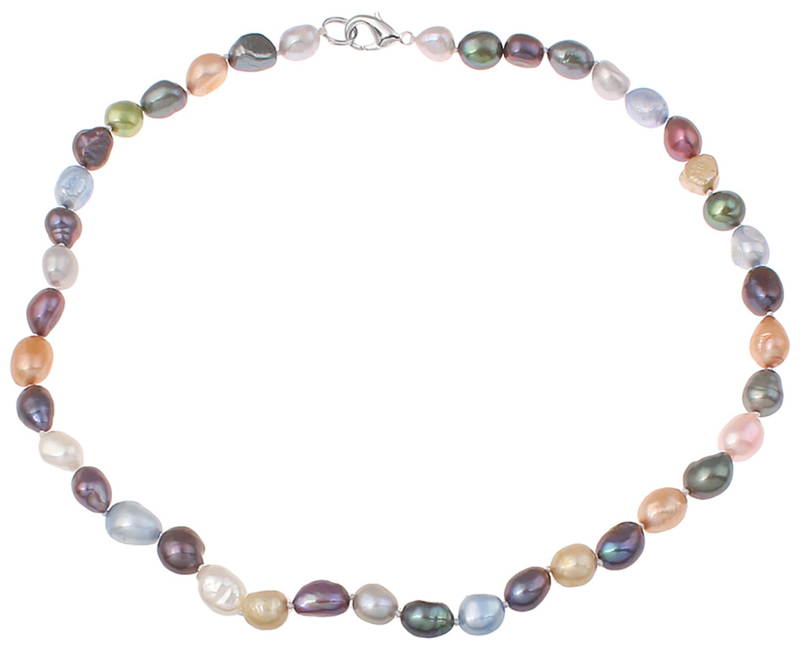 Zoetwater parelketting Decorative Rice Pearl