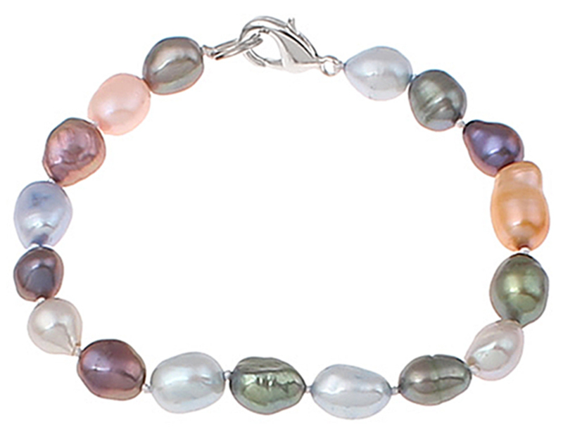 Zoetwater parel armband Decorative Rice Pearl