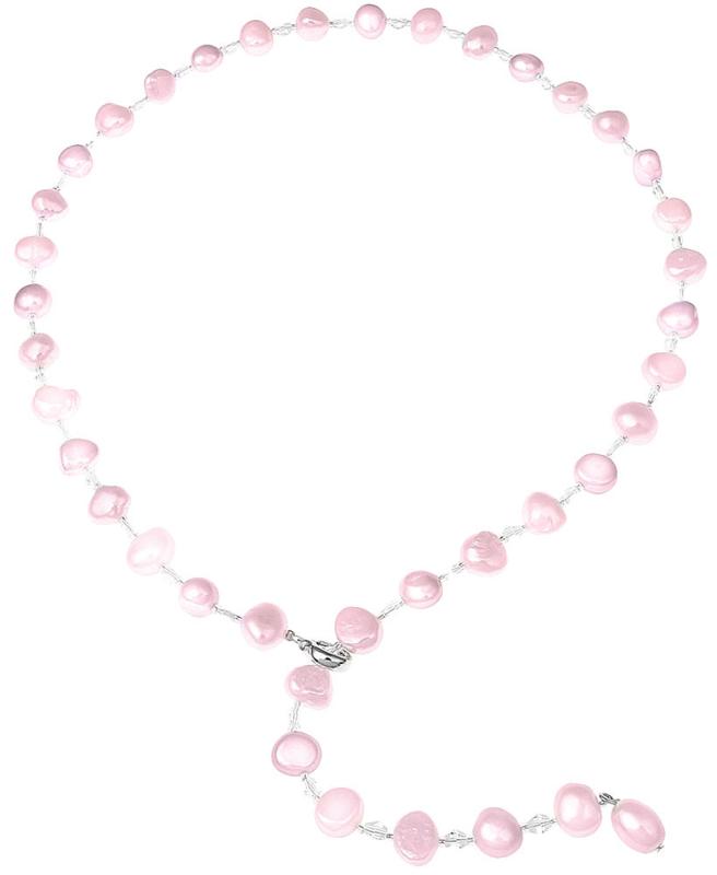 Zoetwater parelketting Adjustable Pearl Pink