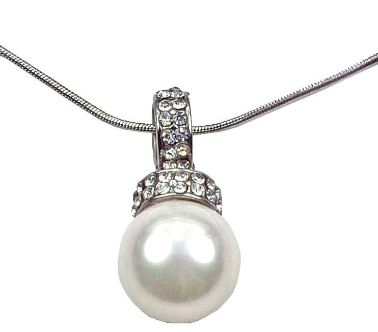 Mother of pearl parel ketting Willanie