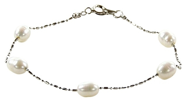 Zoetwater parel armband Cleo