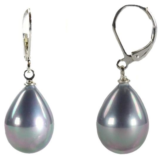 Mother of pearl parel oorbellen Nolly