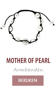 Mother of pearl parel armbanden