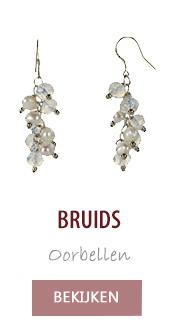 Bruids oorbellen