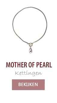 Mother of pearl parelkettingen