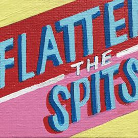 Flatten the spits (klein)