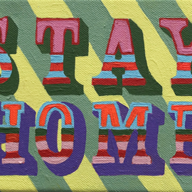 Stay Home (groengeel)