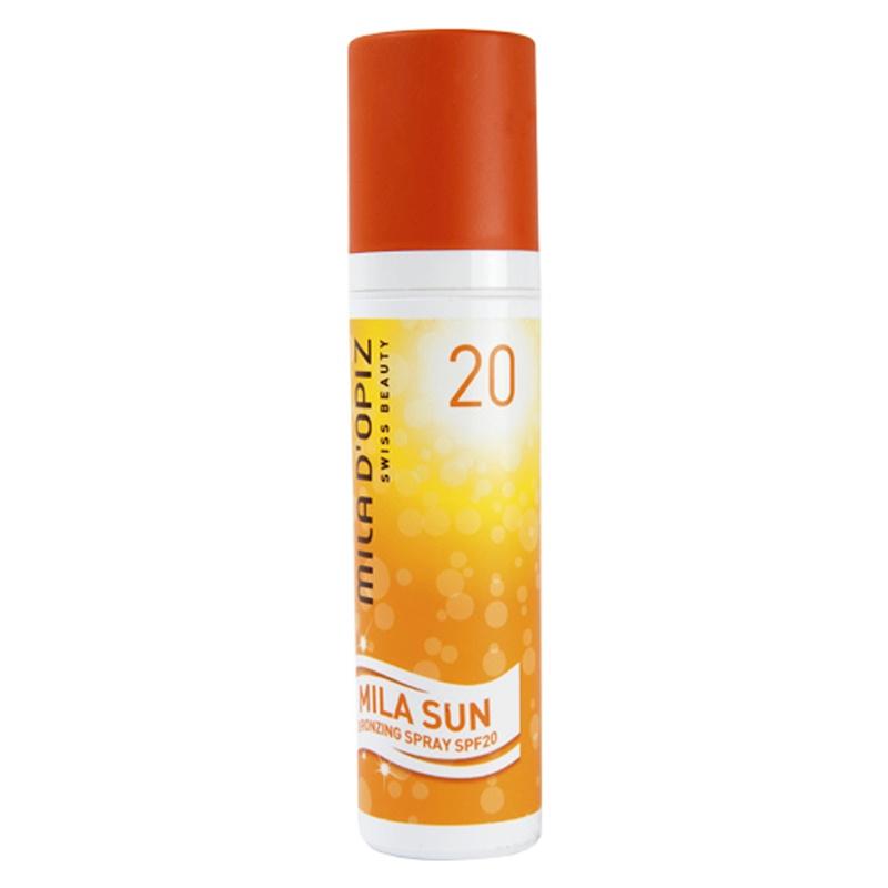 Mila d'Opiz Sun Protection Spray SPF20 100ml.