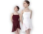 Zwart Balletpak met spaghettibandjes (kind en volwassene)
