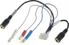 Alpine stekker INE-S900R microfoonaansluiting, aansluiting stuurbediening