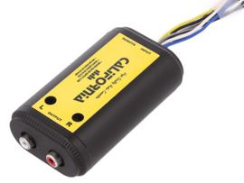 High/Low converter met remote voor autoradio zonder rca