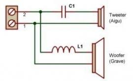 schema compo set met condensator(Elko)
