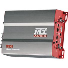 MTX TR450(4x175 Watt max versterker )