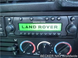 Becker pro BE 4765 Landrover
