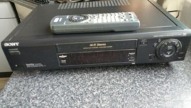Sony SLV-E820VC Videorecorder  met Showview, PDC + afstbed