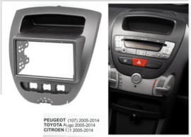 Inbouwpaneel Citroen C1/ Peugeot 107/ Toyota Aygo