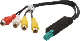 Clarion  stekker achterrijuitcamera NX-501, NX-409 ,NX-500