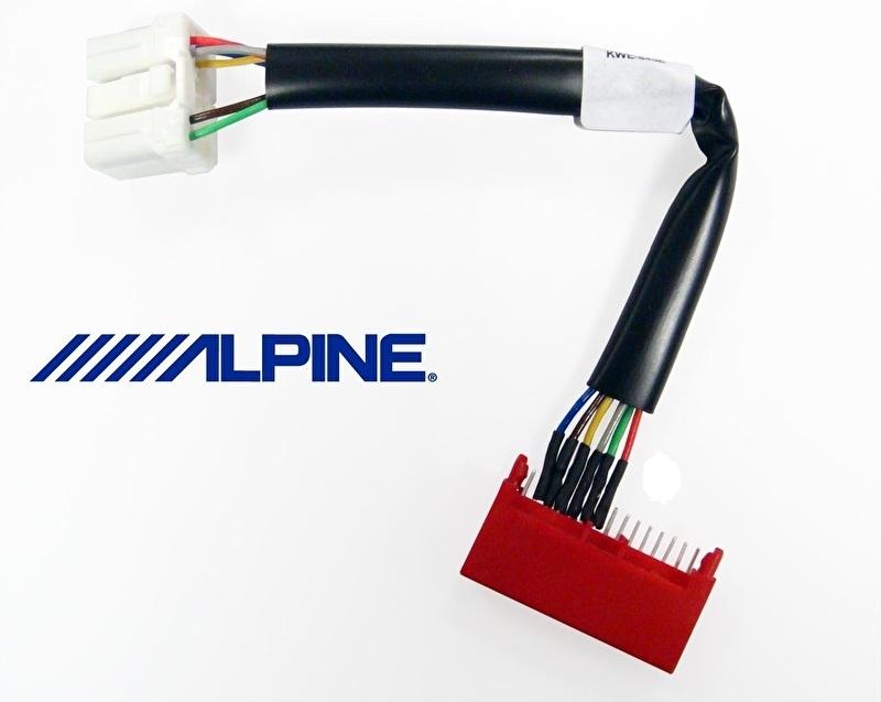 Alpine interface voor stuurbediening control Renault '98