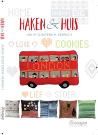 Haakboek: Haken & Huis, Janny Oosterom-Verweij