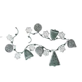 Haakpakket nr. 65 slinger met kerstfiguurtjes