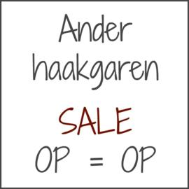 Ander haakgaren - SALE - OP=OP