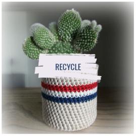 Haakpatroon recycleprojectje