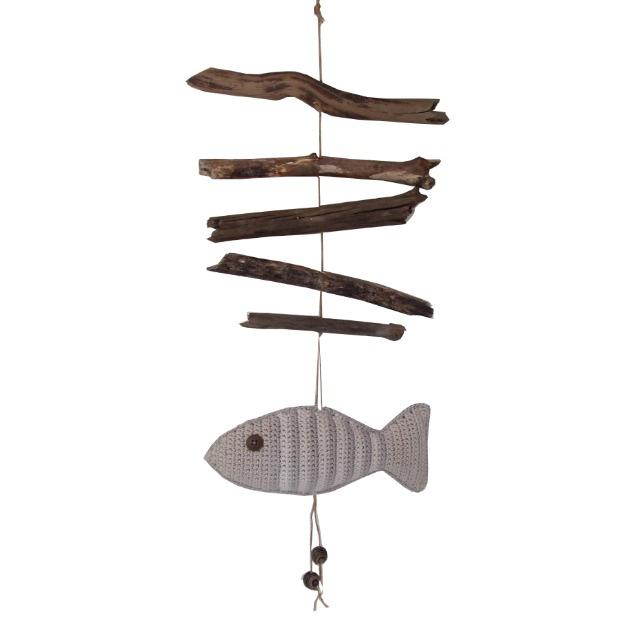 Haakpatroon nr. 75  vis