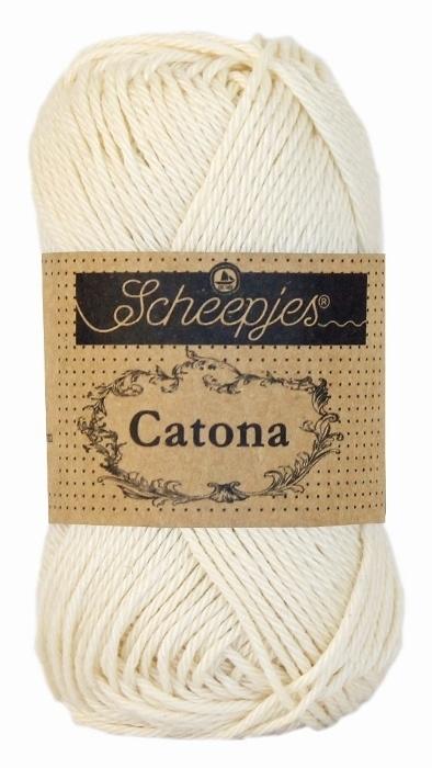 130 Catona 25 gram Old Lace