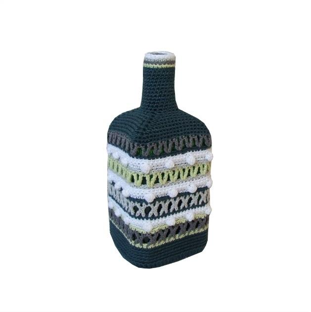 Haakpatroon nr. 59 hoes fles seasons