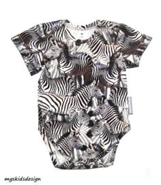 Romper Zebra