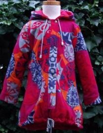 Winterjas gemaakt van Oilily stof