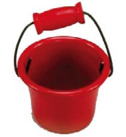 emmer, ca 4 cm rood  Miniatuur  C 5917-41