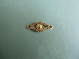 Oog-  Oud goudkleur of Oud zilverkleurig
