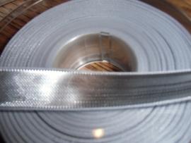 Lint Kerst Lurex 15 mm breed, zilver