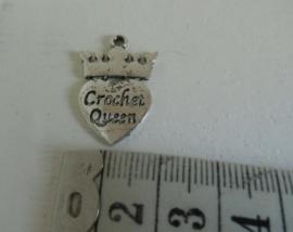 Crocket Queen, ca 21 mm. Oudzilverkleur