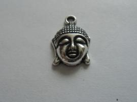 Boeddha, metalen bedel.