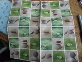 Servet 48- Stones collage