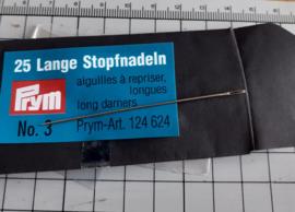 Poppennaald lange stopnaald 7 cm per stuk
